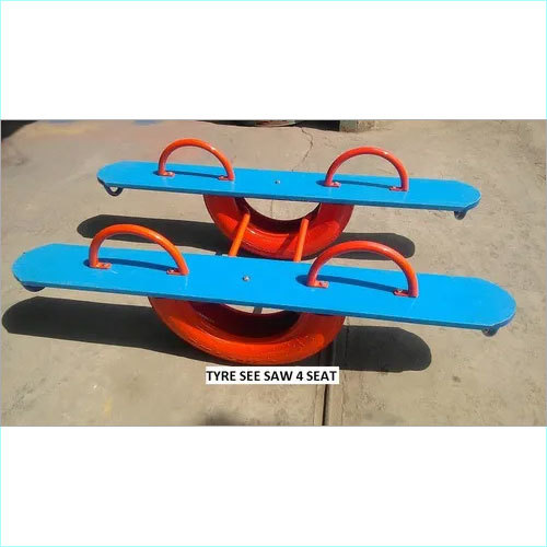 Tire See Saw with 2 Seater