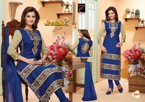 New Arrivals Cotton Embroidery Work Salwar Suits