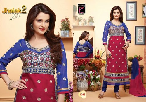 Stylish Designer Collection Jhalak 2 Wholesale Salwar Suits