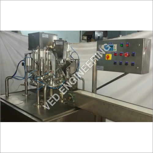 Icecream Cup Cone Filling Machine