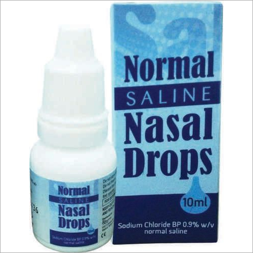 Normal Saline Nasal Drops