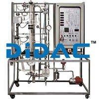 Continuous Distillation Pilot Plant With Data Acquisition