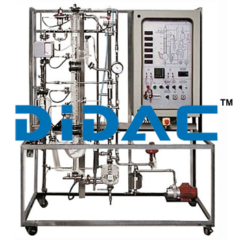 Automated Continuous Distillation Pilot Plant