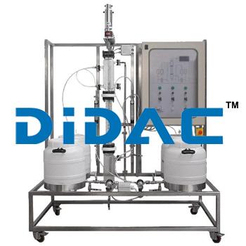 Liquid-Liquid Extraction Pilot Plant With Rotating Disc Column