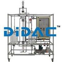 Manual Liquid-Liquid Extraction Pilot Plant With Rotating Disc Column
