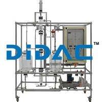 Manual Liquid-Liquid Extraction Pilot Plant With Raschig Rings