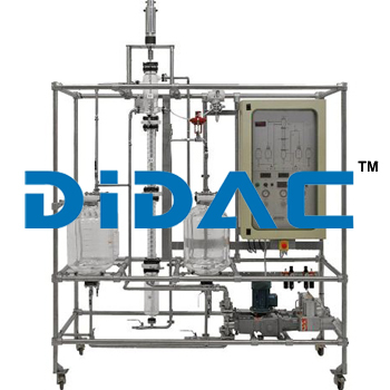 Automated Liquid-Liquid Extraction Pilot Plant With Raschig Ring