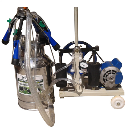 Hand Cum Motorized Milking Machine
