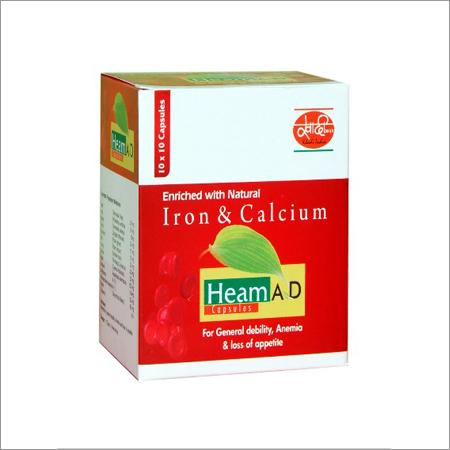 Iron & Calcium Capsules