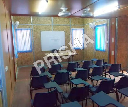 School Cabin with Furniture