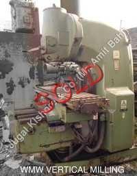 WMW Vertical Milling Machine