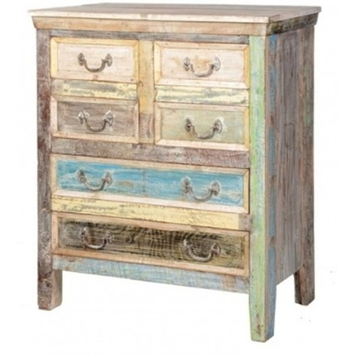 Reclaimed Wooden Sideboard with Drawer