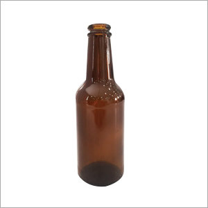 500ml Short Amber Glass Beer Bottle