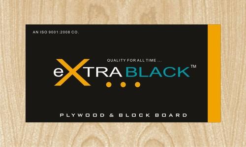 XTRA BLACK Plywood & Block Board