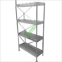 Storage Rack For Commercial Kitchen