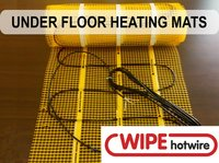 Dual Core Under Tile Heating Mat (PTFE Insulation)
