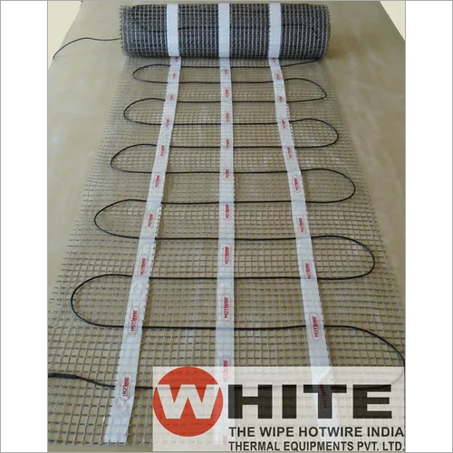 Single Core Under Tile Heating Mat with ETFE Insl.