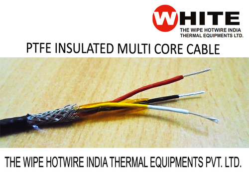 PTFE Insulated Multi Core Cable