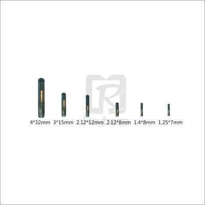 Bio-Glass Tube Electronic Microchip Tag
