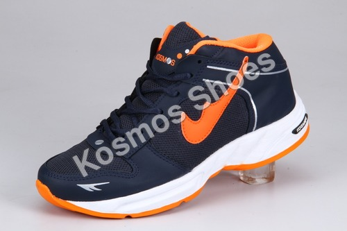 Black and Orange Comfortable Sports Shoes