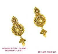 Fancy Polki Earring
