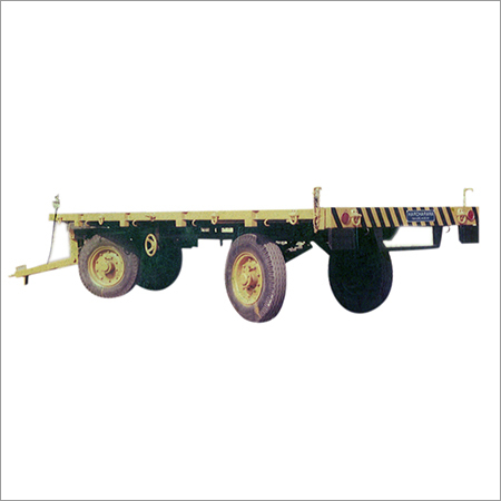 Commercial Flatbed Trailer