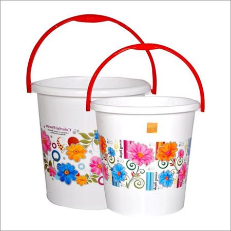 Printed Plastic Buckets