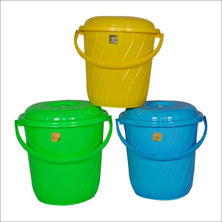 Plastic Cover Bucket