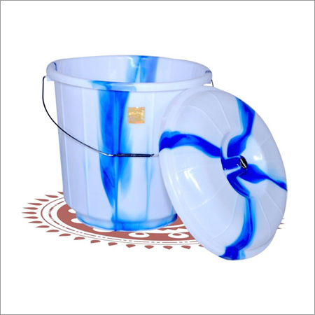 Plastic White Bucket