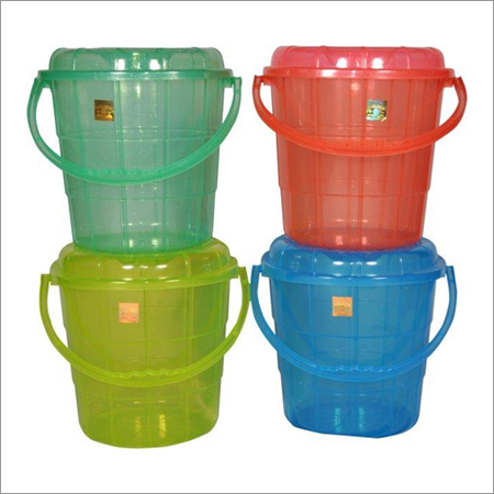 Plastic Transparent Buckets