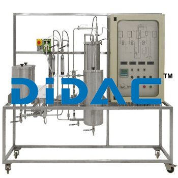 Automated Continuous Reaction Pilot Plant With Plug Flow Reactor