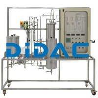 Automated Continuous Reaction Pilot Plant With Plug Flow Reactor