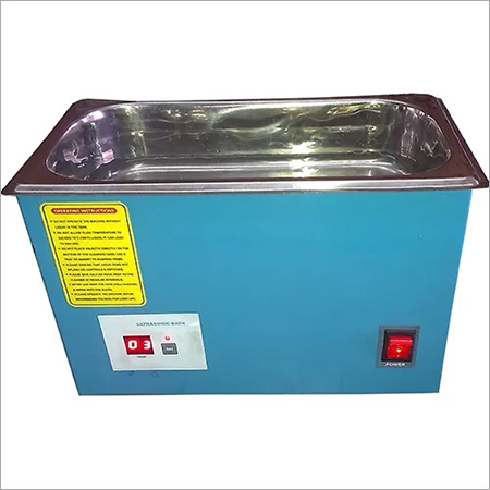 100 Watts Ultrasonic Bath with Timer
