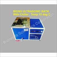 Ultrasonic Bath With Cooling