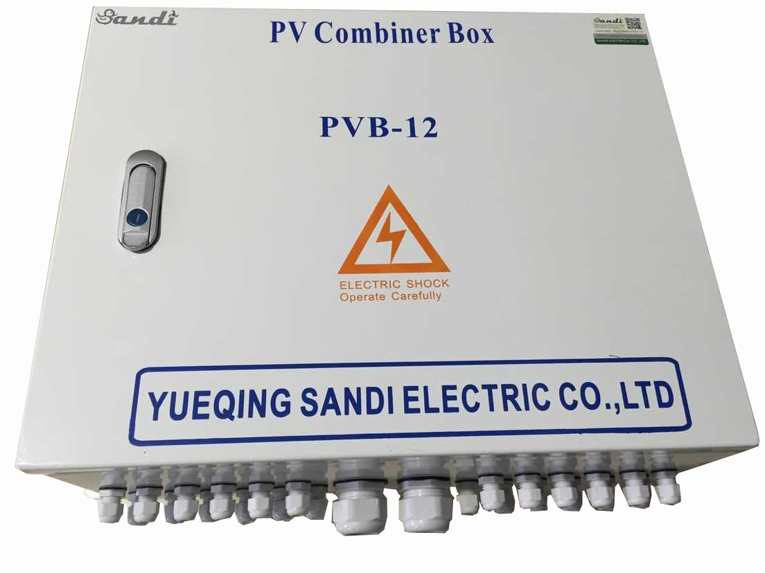 PV Combiner Box with Lightning Protection