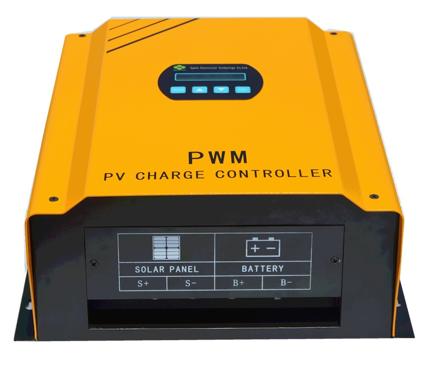 Solar Charge Controller For Charging Battery