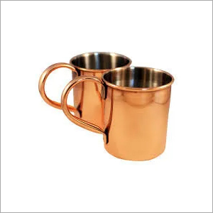 Stainless Steel And Copper Mugs