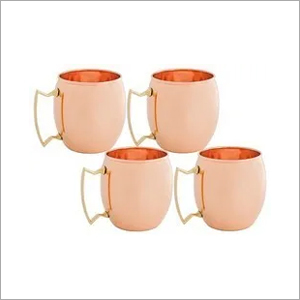 Solid Copper Moscow Mule Mugs