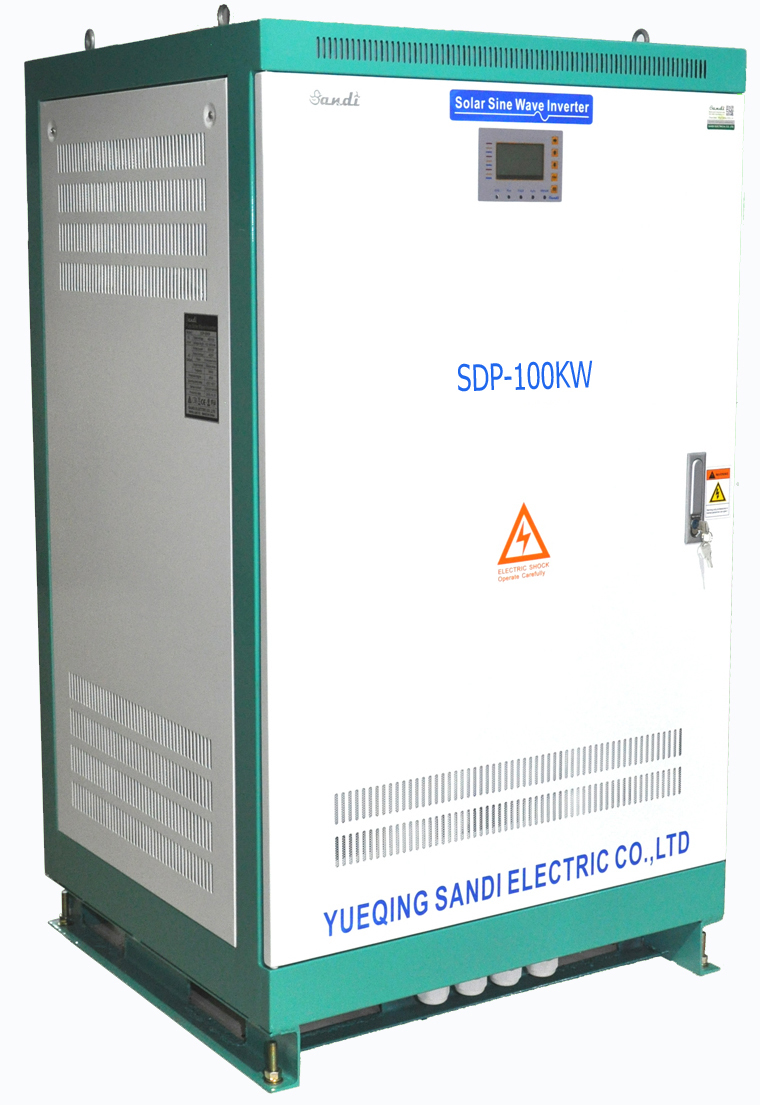 Solar Three Phase Inverter with Battery Charger