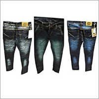Spray Wash Denim Jeans