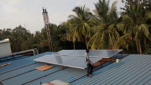 Solar panels for stabilizer