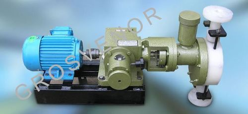 Hydraulically Actuated Diaphragm Pumps