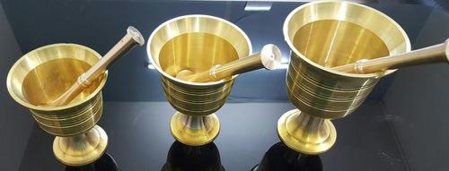 Brass Hawan Pan Kutti