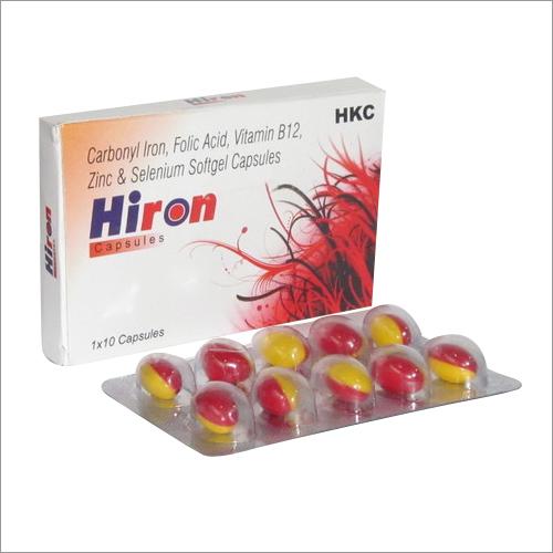 HIRON  Soft Gelatin Capsules Multivitamins