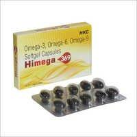 HIMEGA 369 Soft Gelatin Capsules Multivitamins