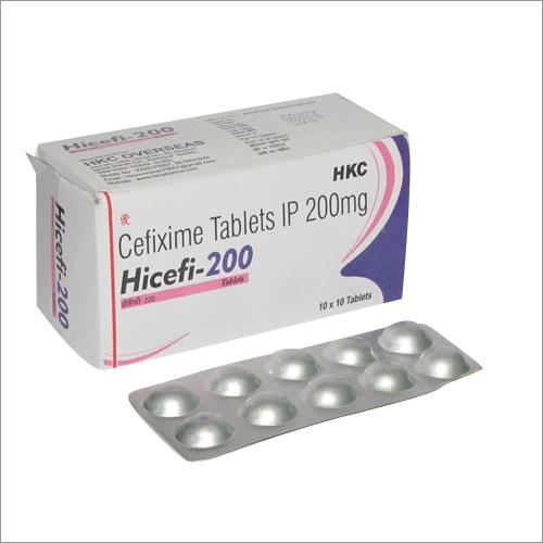 CEFIXIME  200mg Tablets