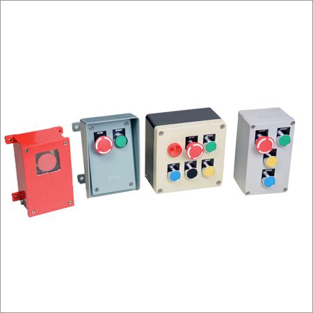 Cast Aluminium Push Buttons Stations