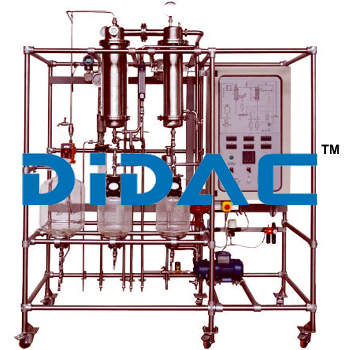 Single Effect Falling Film Evaporation Pilot Plant