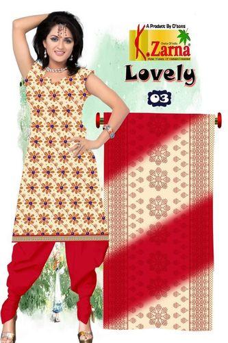 Top Cotton Print Salwar Suit