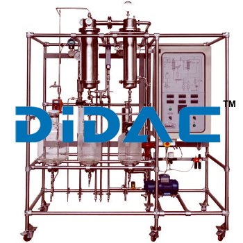 Single Effect Falling Film Evaporation Pilot Plant With Software